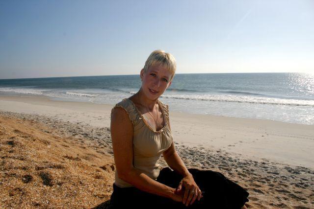 Female model photo shoot of Wannaberavin in Vilano Beach
