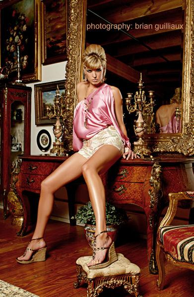 dallas Jun 22, 2006 2006 brian guilliaux scene magazine...june2006...model: lesley ann (the campbell agency)