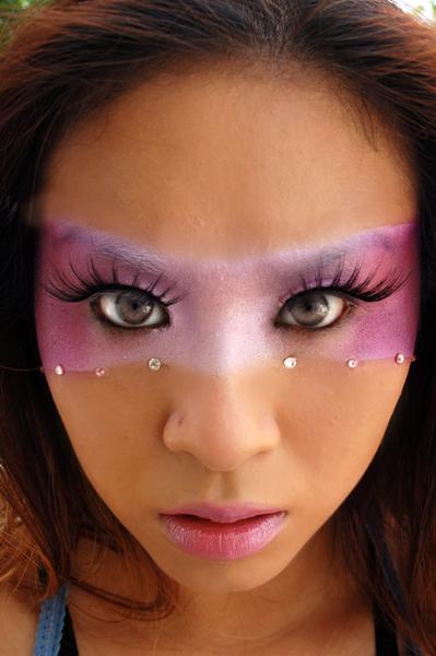 Female model photo shoot of Queen of Blending