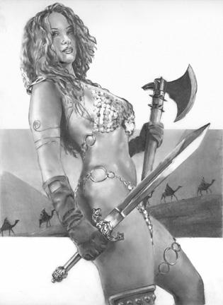Jul 03, 2006 Art  Gry Carbon 2006 - Red Sonja  Dynamite Entertainment Red Sonja