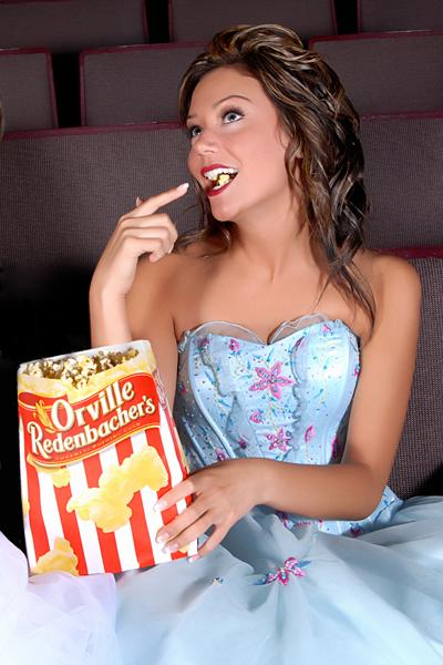 The Roxy Theatre, Saskatoon Jul 04, 2006 2006 bcheckowy Dani - movie, popcorn, and a laugh