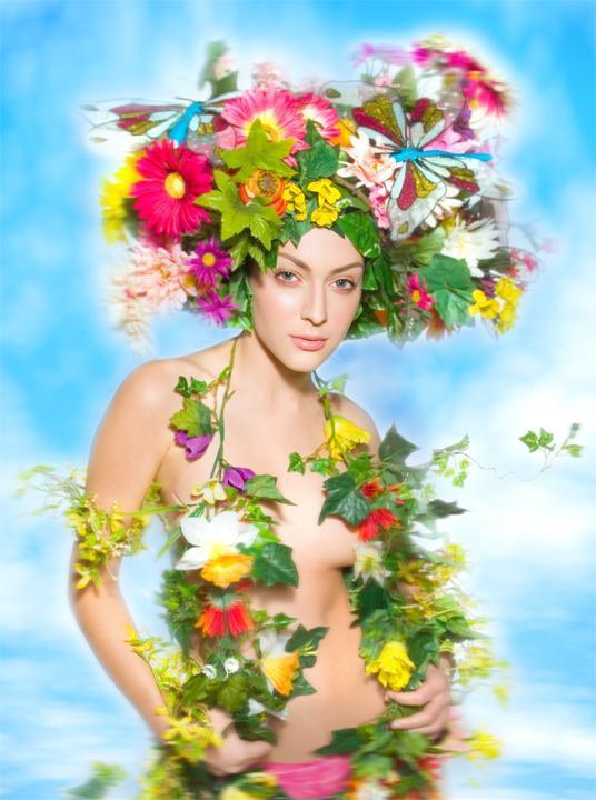 Los Angeles Jul 10, 2006 Suzette Troche-Stapp Goddess of Spring