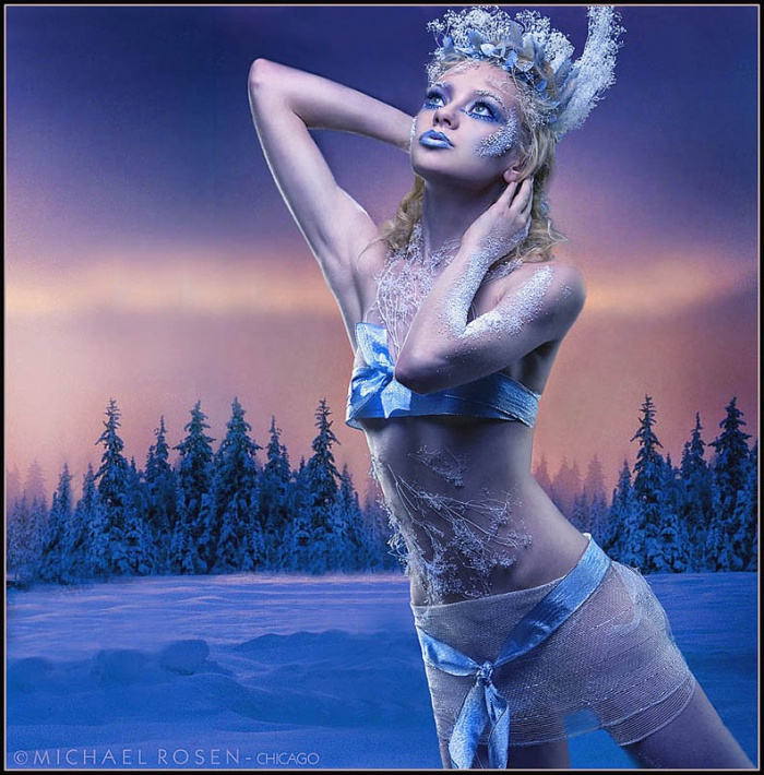 Studio 306 - Chicago Jul 17, 2006 Michael Rosen Snow Princess- Styling concept by Jenni Lynn