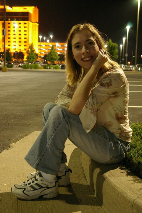 Female model photo shoot of Sammie - Lynn in Harrah's Casino, St. Charles, Missouri