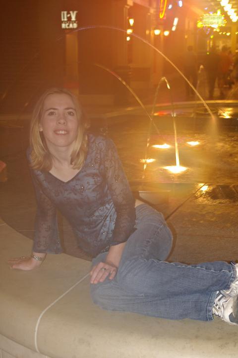 Female model photo shoot of Sammie - Lynn in Ameristar Casino, St. Charles, Missouri