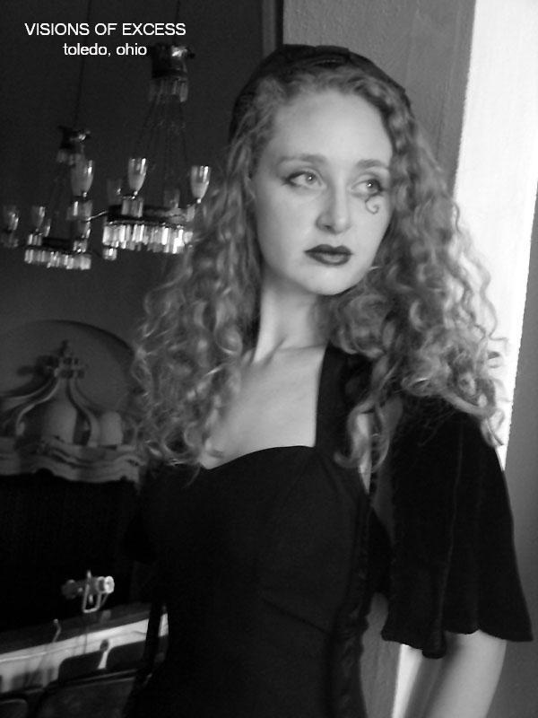 Female model photo shoot of Christen Heilman in Collingwood Arts Center, Toledo, Ohio