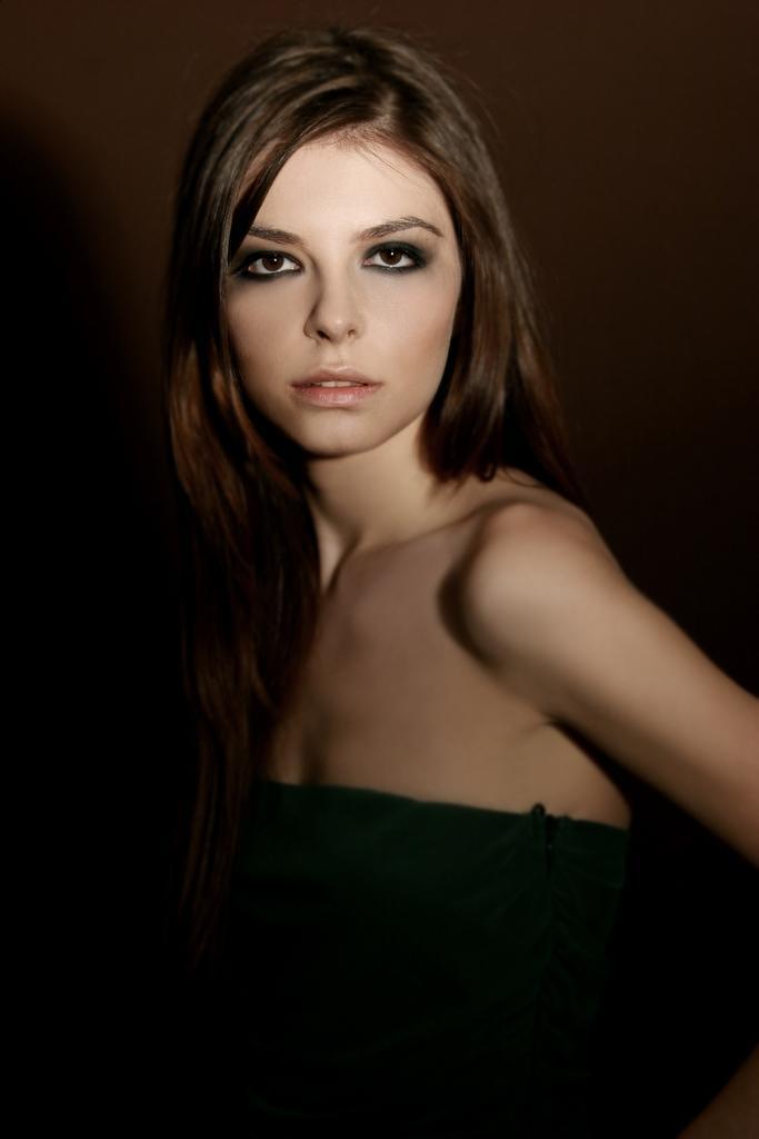 Female model photo shoot of Monica MS in Bucharest, Romania