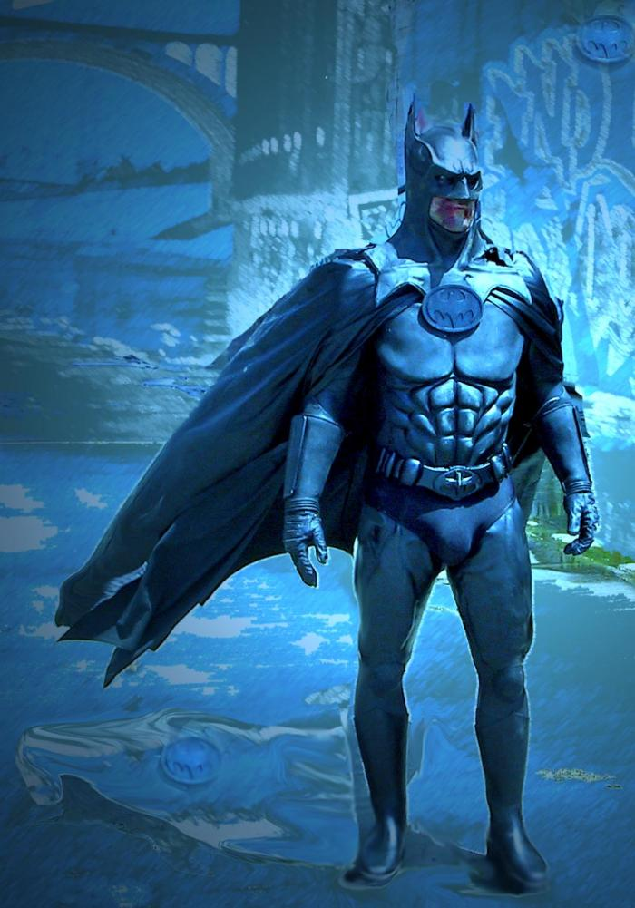 Hermosa Beach CA Aug 03, 2006 Irmas Place Productions Death of Batman Publicity Still