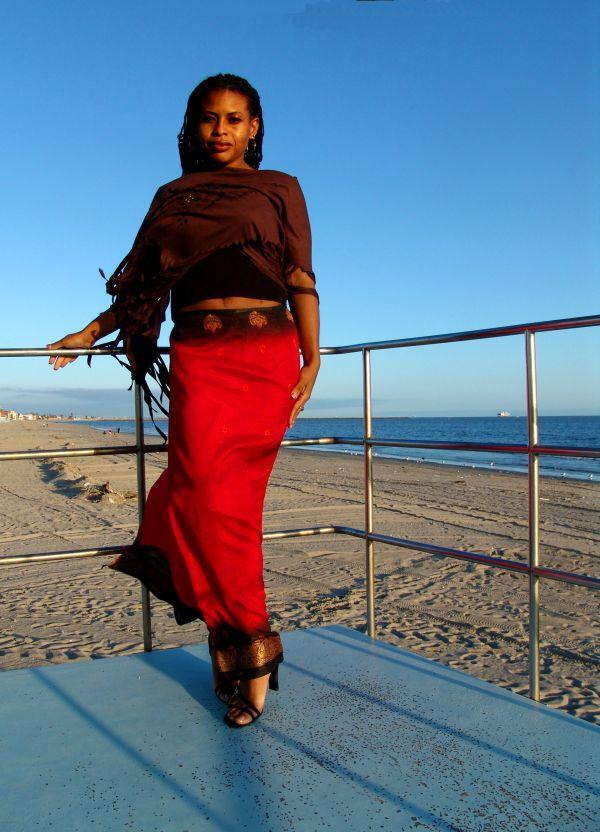 Female model photo shoot of M D Marie