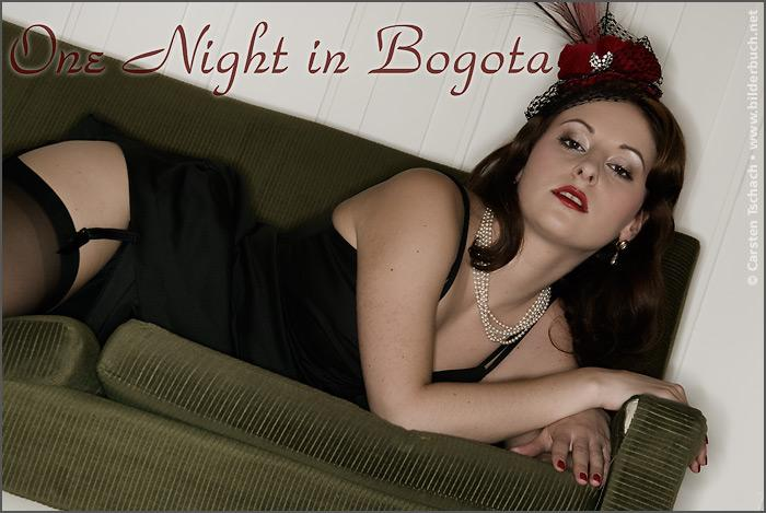 Hotel Bogota Berlin Aug 09, 2006 One night in Bogota