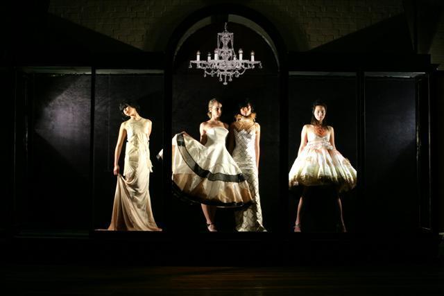 Sydney Aug 13, 2006 overexposed photography Fashion Parade Invitation