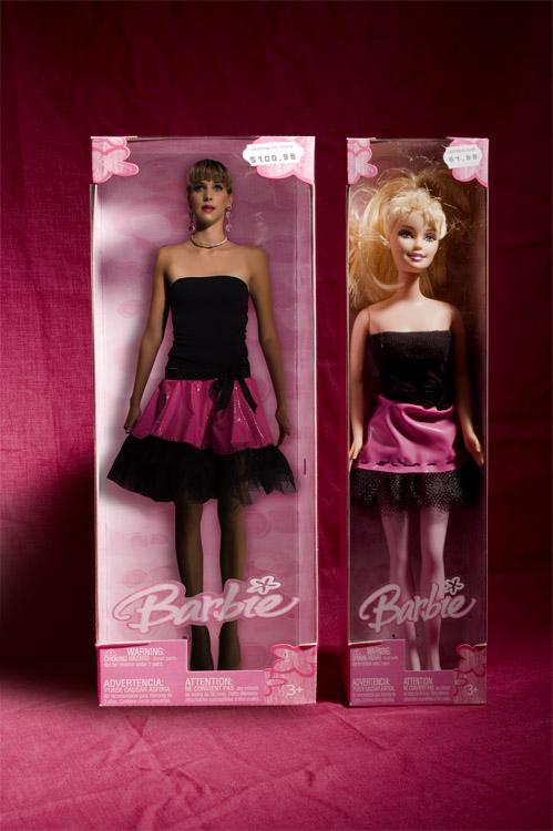 San Francisco Aug 13, 2006 Photographer: Mark Chien, Makeup/Stylist Lauren Warner, Model H. Walker Barbie series