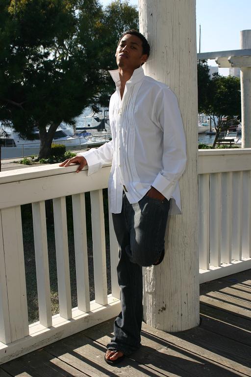 Male model photo shoot of Saint James in Marina Del Rey