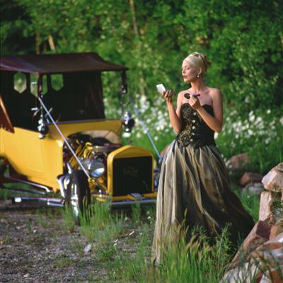 Male model photo shoot of Stephen Moody Ltd in Deer Valley, UT