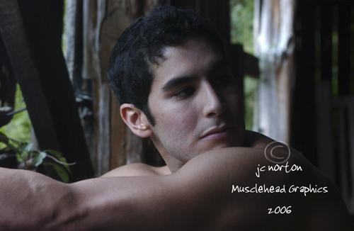 Male model photo shoot of Jason D. by Musclehead Graphics