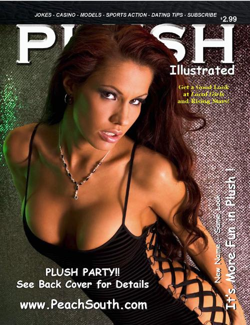 Aug 24, 2006 Plush Illustrated Magazine Cover September 06 ~ Model, Teresa Noreen ~ Photography, George Hoffman