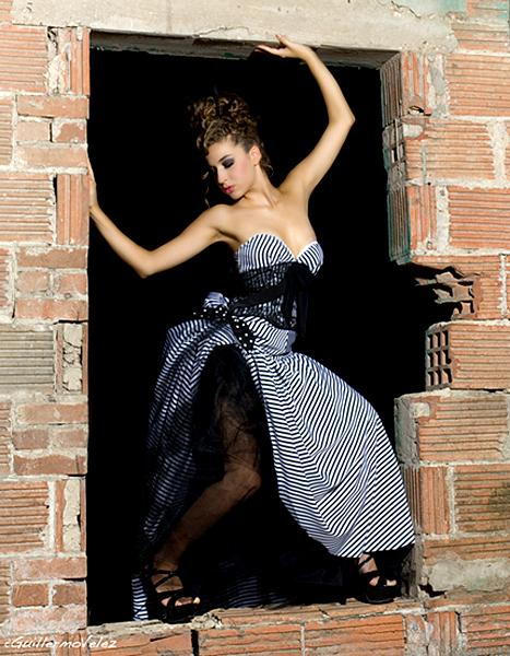 San Antonio Aug 25, 2006 Guillermo Velez Dress by Angelina