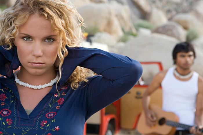 Female model photo shoot of SaschaHC in Joshua Tree National Park