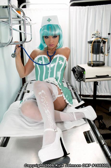 Las Vegas Aug 28, 2006 Kyle Johnsen Naughty Nurse theme - styling and makeup by Yaya