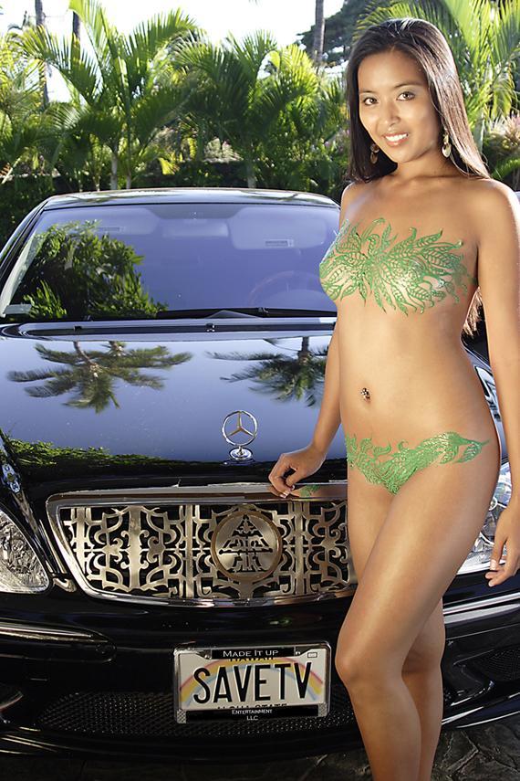 Maui Hawaii Sep 07, 2006 Justin Drew Custom Body Art & Car Jewelry By Justin Drew