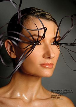 Sep 18, 2006 creative direction/makeup/hair-Candace Corey, model-Juliet, phtg-Fred Ramirez, (several makeup/hair assistants)