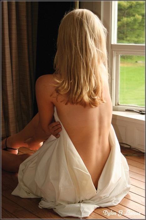 Female model photo shoot of Krista Laraine in Pawlet, VT