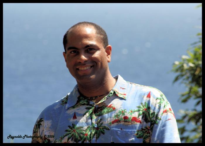 Male model photo shoot of Pono Jackson in Polulu Valley, Big Island, Hawaii