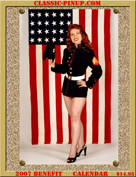 Oct 04, 2006 J.D. Boswell, www.classic-pinup.com Tearsheet- 2007 Retro Pinup Calendar