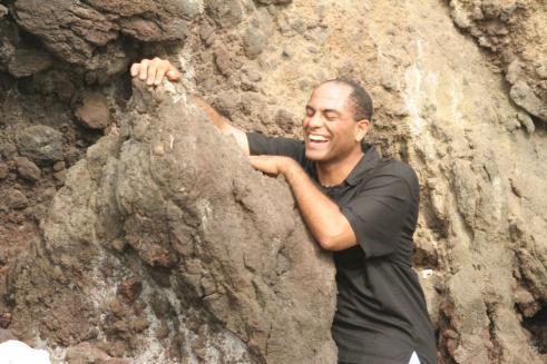 Male model photo shoot of Pono Jackson in Big Island, Hawaii at my