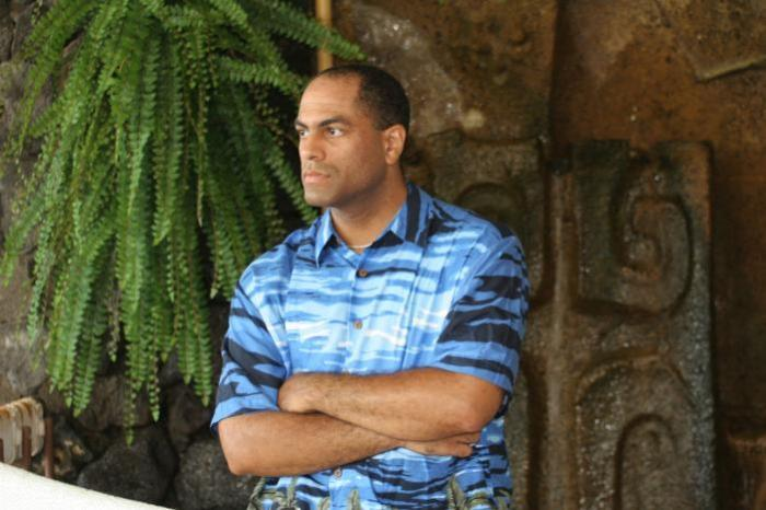 Male model photo shoot of Pono Jackson in Kailua-Kona, Hawaii