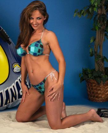 Oct 11, 2006 EngelArt Painted on Bikini - Sports Illustrated Style