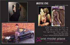 Female model photo shoot of MISTIE EVE