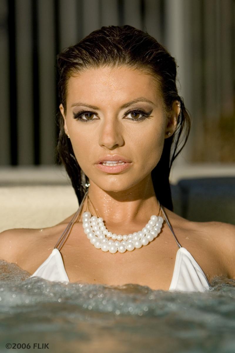 Female model photo shoot of Angel Pennington in LVSS 2006