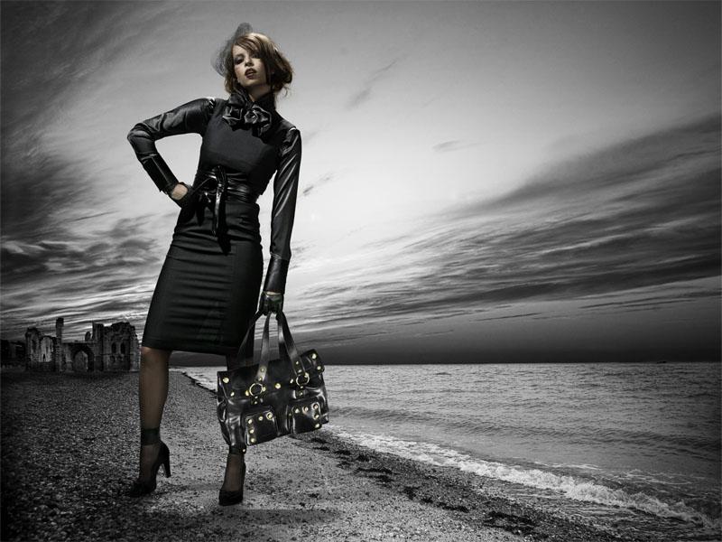 Female model photo shoot of pressdelete in Profoto Stockholm Studio