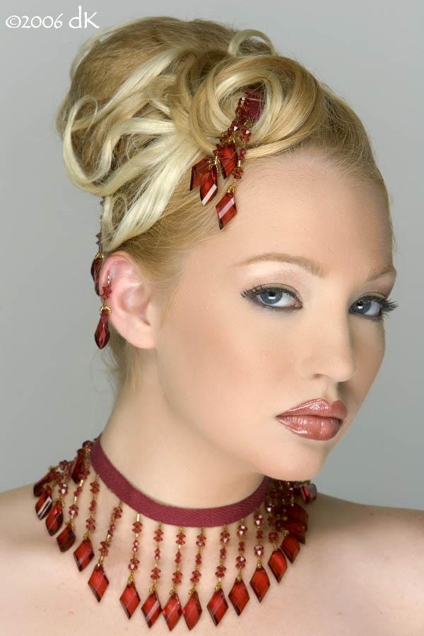 Female model photo shoot of Angel Pennington in Huntsville AL 2006