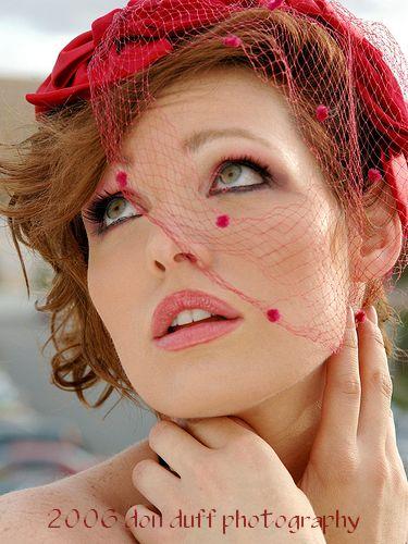 Female model photo shoot of Angel Pennington in Las Vegas 2006