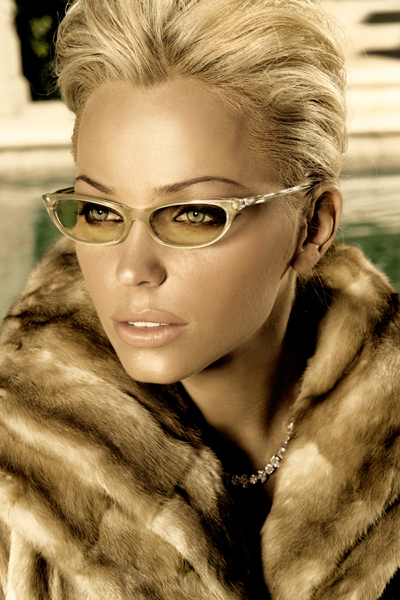 Nov 01, 2006 Badgley Mischka eyewear campaign