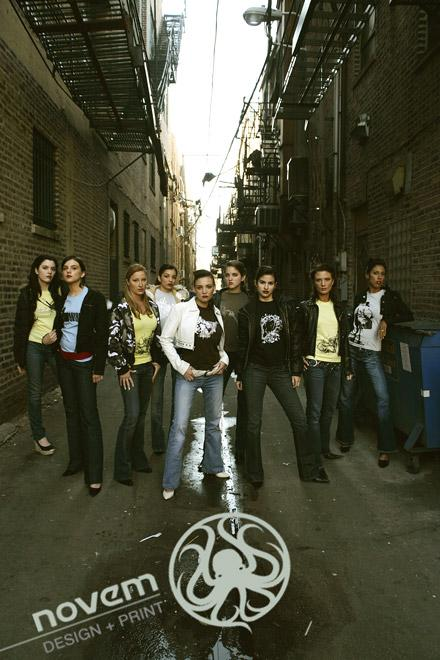 China Town Nov 03, 2006 2006 Escalante Novem t-shirt company shoot.
