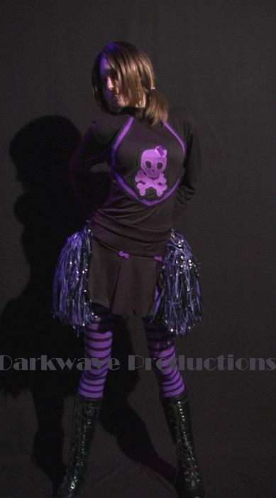 Male and Female model photo shoot of Darkwave Productions and Sarah_Glam_Doll