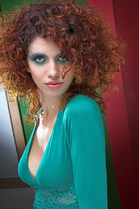 Hair and Makeup - Robert Crommen Group for Paul Mitchell Nov 10, 2006 mike brouwer Model ~ Elisa