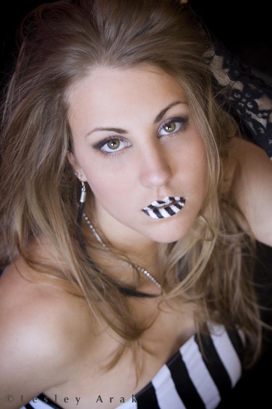 Springfeild MA Nov 14, 2006 Lesley Arak Stripes - Makeup by Jenny ReCasino - 2007