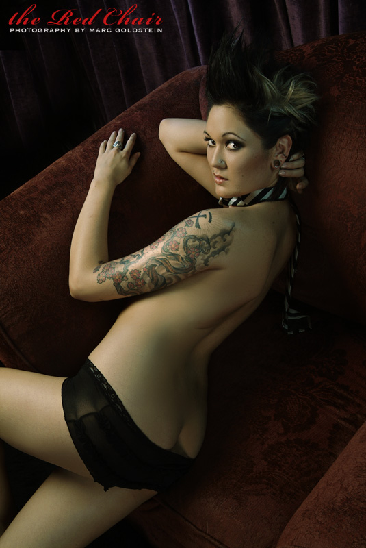 Female model photo shoot of La_Lauren Nicole by marc goldstein in hollywood