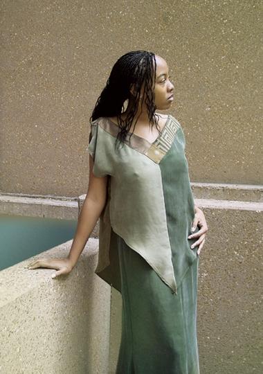 downtown Denver Nov 26, 2006 mikell haynes green dress