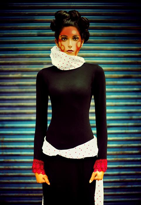 L.A. Nov 26, 2006 Sirene Evans(hair) Pinar Eries (designer ) Hakan photography Photoshoot in downtown L.A. .....