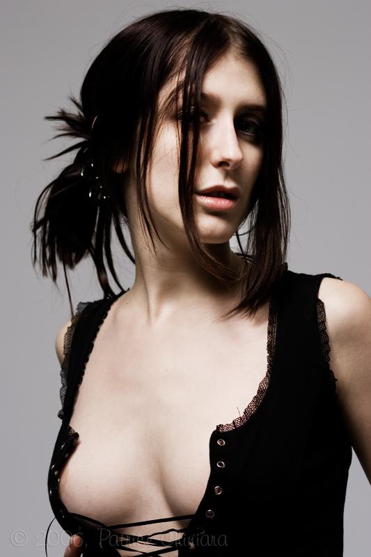 Female model photo shoot of Alouqa by Patrice Chiniara