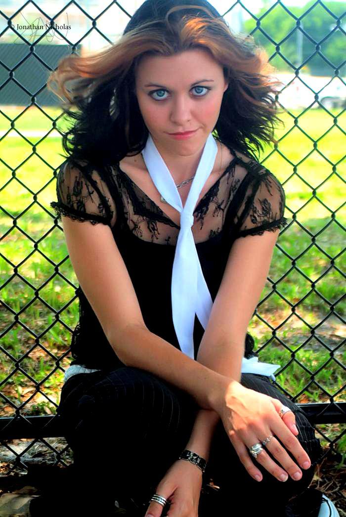 Female model photo shoot of Catherine K Foxx by Jonathan Nicholas