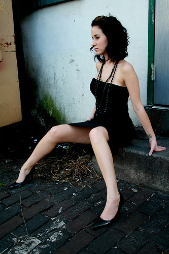 Female model photo shoot of AmberLeeD by Heather Dykstra in Down Town St. Pete
