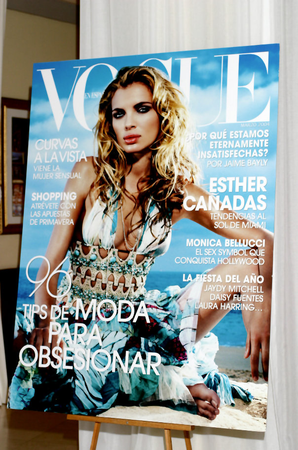 Miami Nov 30, 2006 Vogue Espanol, Glamour Latin, Ocean Drive Magazine and press were there for my three Days of Beauty Show in Southbeach.  Vogue provided me all the models.