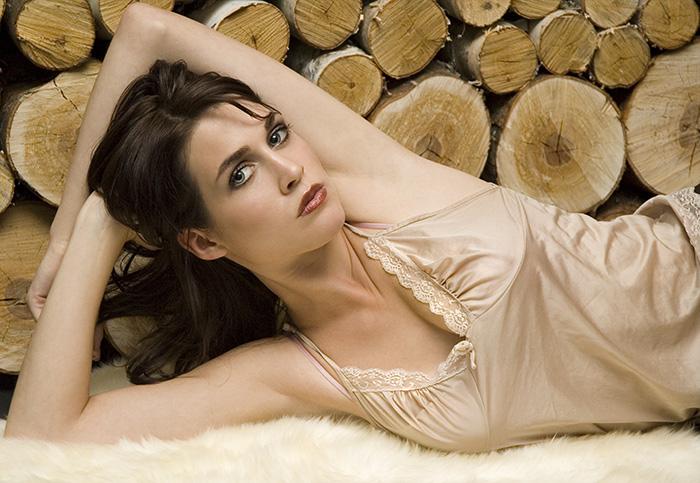 Female model photo shoot of Zee makeup girl in studio