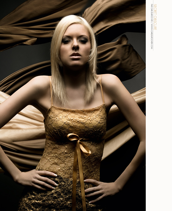 Female model photo shoot of Anouck by CDuro in In Studio (Gatineau, Québec)